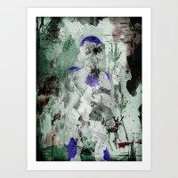 Lord Frieza - Digital Watercolor Painting Art Print