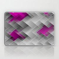 Hot Pink Geo Laptop & iPad Skin