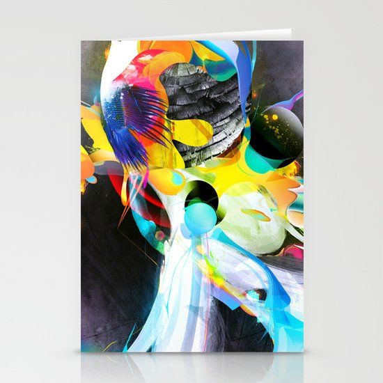 Vivid Reflections Stationery Card