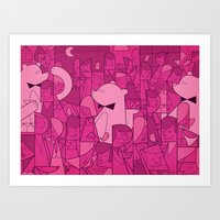 Pajama Party Art Print