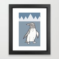 Lil Penguin Framed Art Print