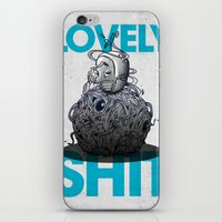 Lovely Shit iPhone & iPod Skin