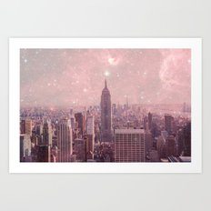 Stardust Covering New Yo… Art Print