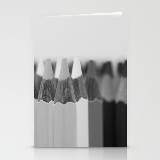 Black & White Stationery Card