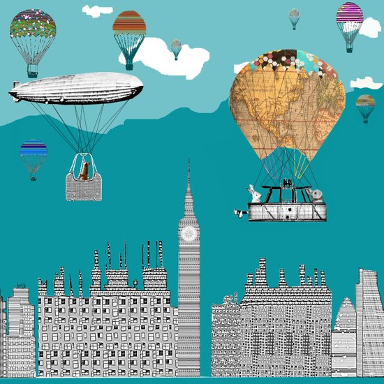 adventure days london  Art Print