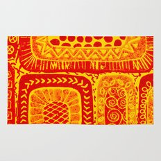 sunny pattern Rug