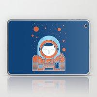 Orange Space Laptop & iPad Skin