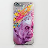 iPhone & iPod Case featuring Mr. Einstein by RamonN90