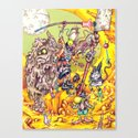 Low Life Adventurerers Canvas Print