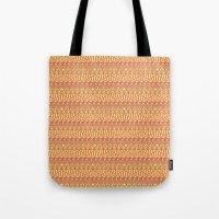 Aztec duo color pattern Tote Bag