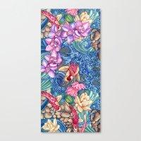 Orchid Splash Canvas Print