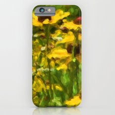 Wildflowers Painting iPhone 6 Slim Case