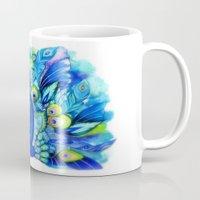 Peacock In Full Bloom Mug