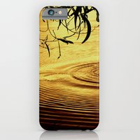 iPhone & iPod Case featuring Honey Ripples by Donuts