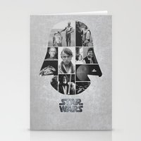 A New Hope COLLAGE Varia… Stationery Cards