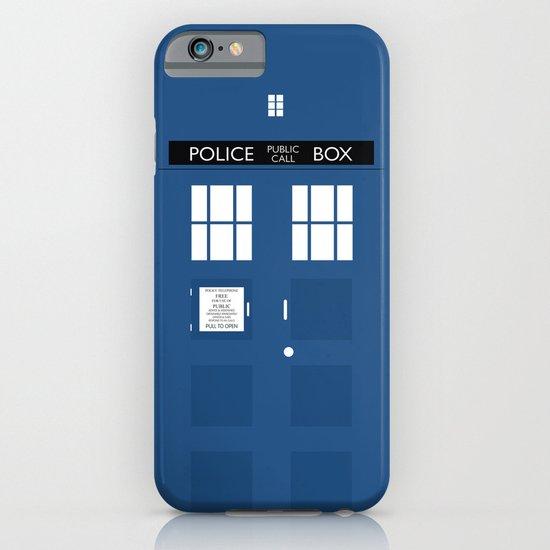 Tardis - Minimalist iPhone & iPod Case