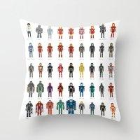 Iron Man - The Pixel Collection Throw Pillow