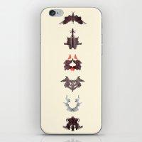 rosrach test iPhone & iPod Skin
