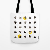 stoneheads 002 Tote Bag