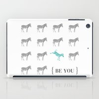 Be You - Zebra Print iPad Case