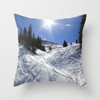 A New Season Throw Pillow