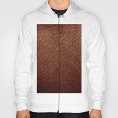 Leather Texture (Dark Brown) Hoody