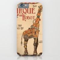 iPhone & iPod Case featuring Robot Circus - Giraffe by Michael Murdock