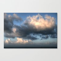 The sea... Canvas Print