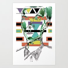 Rectangle Meets Square Art Print