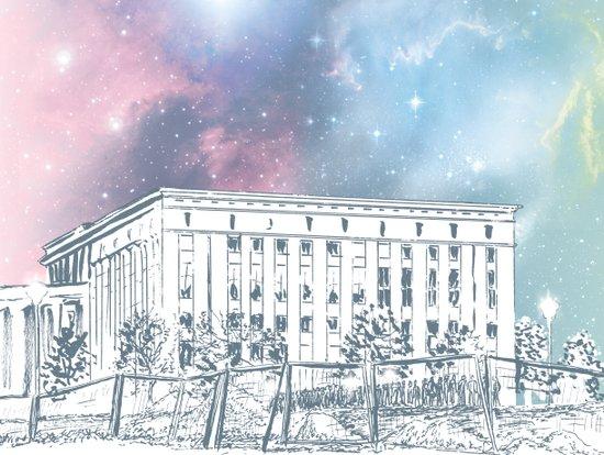 Until The Daylight - Berlin Comic - Piece 1 Art Print