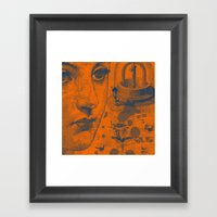 Looking Down The Wishing… Framed Art Print