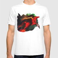 Wind Göttin Mens Fitted Tee White SMALL