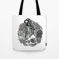 Aquarius Rising Black An… Tote Bag