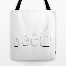 Couple of TOTORO's Friends Tote Bag