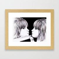 MIRROR Framed Art Print