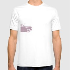 Bel Air White Mens Fitted Tee SMALL