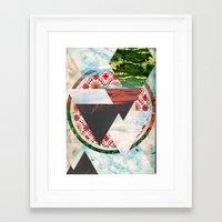 Experimental Abstraction Framed Art Print