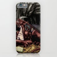 iPhone & iPod Case featuring The Dragon's Cave by Margaret Stingley