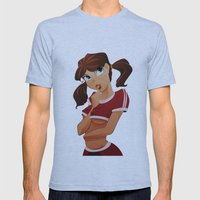 lollipop girl Mens Fitted Tee Athletic Blue SMALL