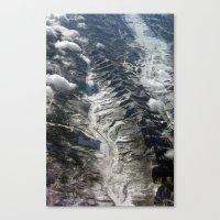 Dip Into The Rocks Canvas Print