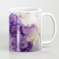 purple flowers Mug