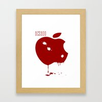Apple Kill Framed Art Print