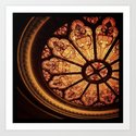 Orpheum Stained Glass Art Print