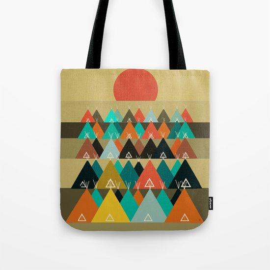 Tipi Moon Tote Bag