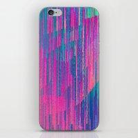 reign of glitch iPhone & iPod Skin