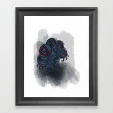 small robot Framed Art Print