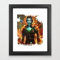 Framed Art Print featuring Dead Space by Ururuty