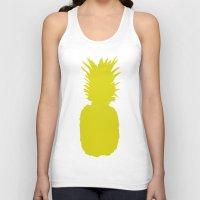 Pineapple Pattern Unisex Tank Top