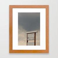 Un-advertising Framed Art Print