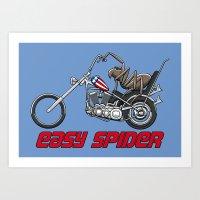 Easy Spider Art Print